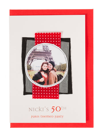 Birthday Invitation Nicki's 50th