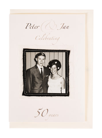 Peter & Jan Anniversary Invitation