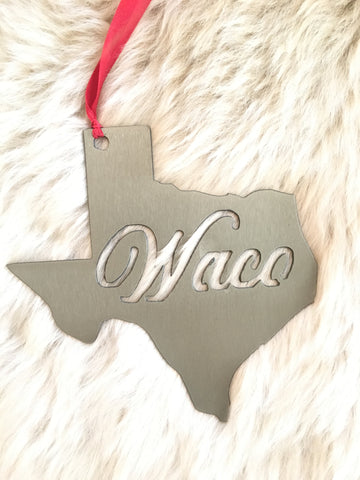 Texas Waco Ornament
