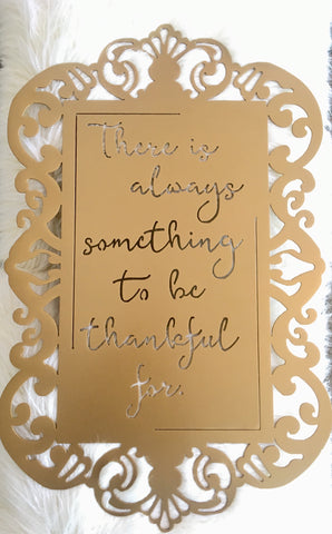 Always Be Thankful - Large 25""