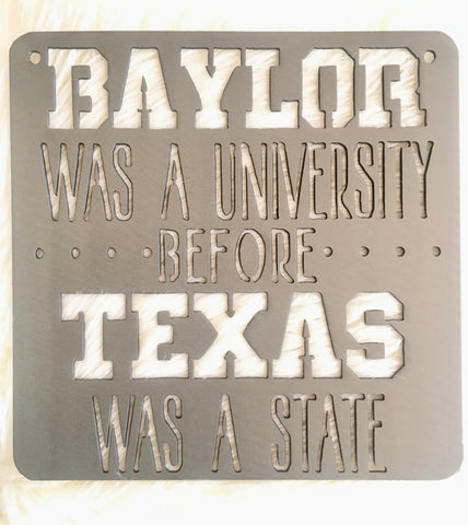 Small Baylor Sign - 9""