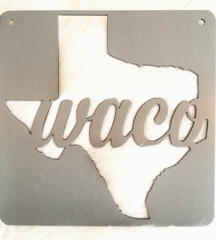 Small Waco Sign - 9""