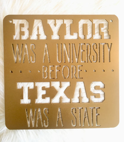 Medium Baylor Sign - 15.75""