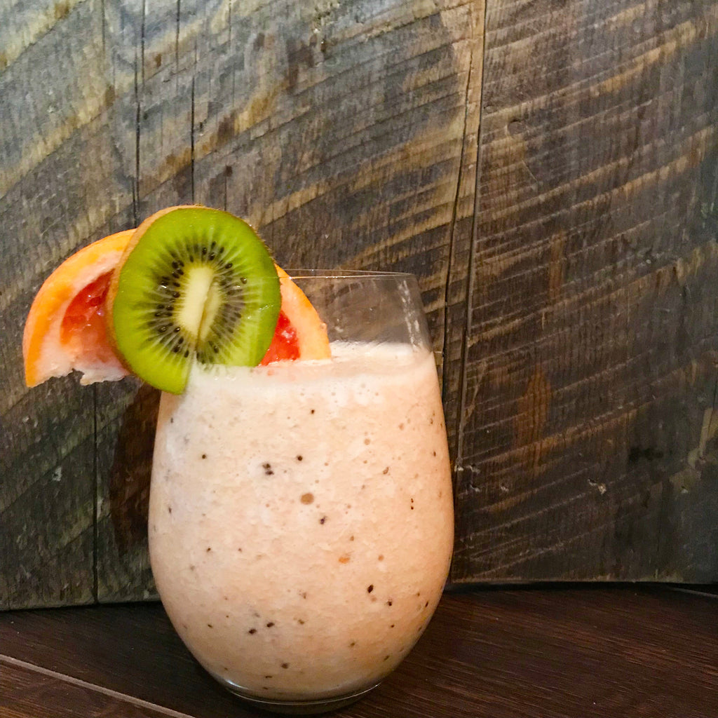 Grapefruit Kiwi Smoothie