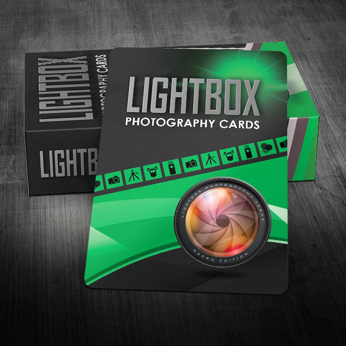 LightBox Photography Cards: Macro Edition