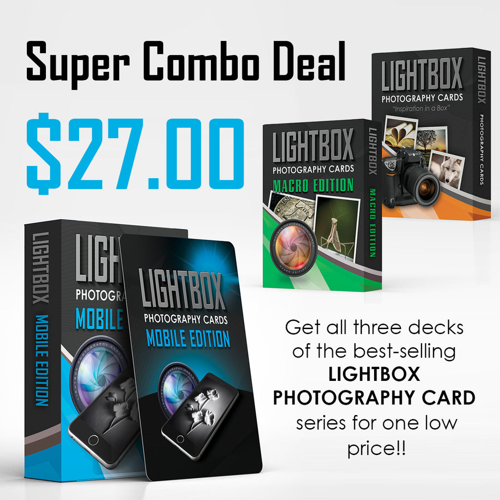 LightBox Photography Cards - Super Combo!
