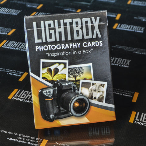 LightBox Photography Cards