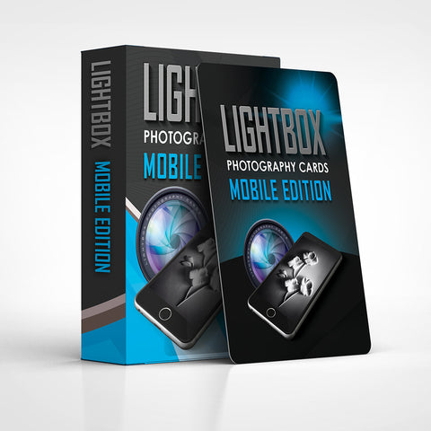 LightBox Photography Cards: Mobile Edition