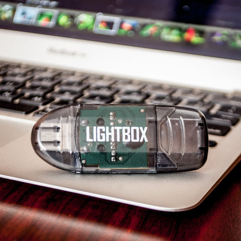 LightBox Photography Cards: USB Card Reader