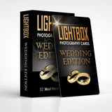 LightBox Photography Cards: Wedding Edition