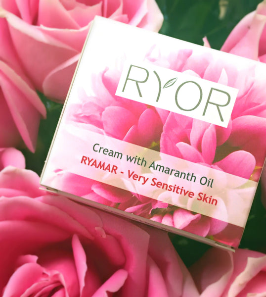 Ryor Cream with Amaranth Oil lotion for sensitive skin