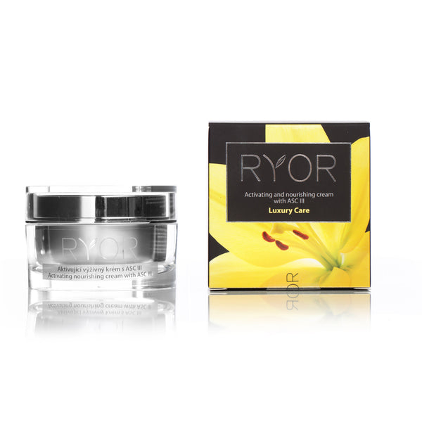 RYOR Activating and Nourishing Cream with ASCIII