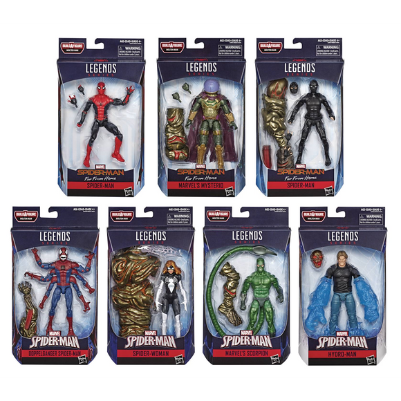 Spider-Man Marvel Legends - 2019 Wave 2