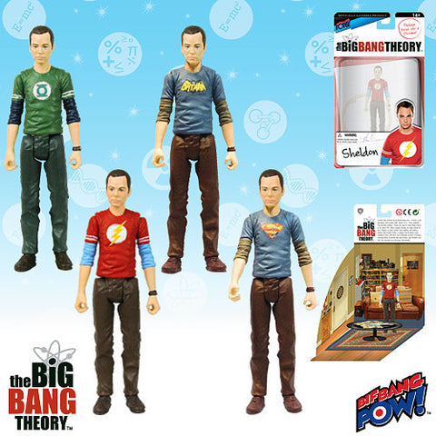 The Big Bang Theory - Sheldon - Set of 4