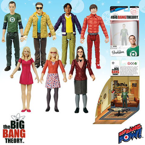 The Big Bang Theory - Set of 7