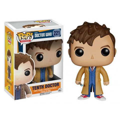 Dr. Who POP! - 10th Doctor