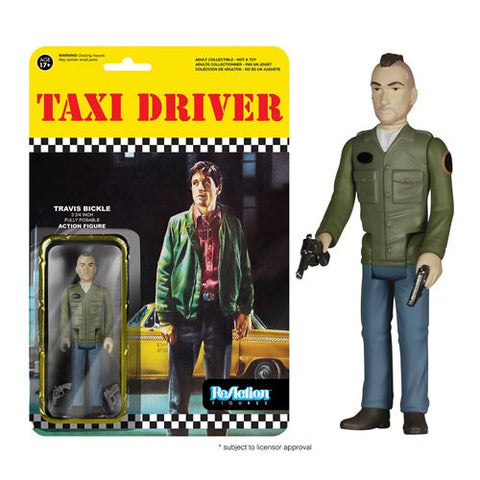 Taxi Driver ReAction - Travis Bickle