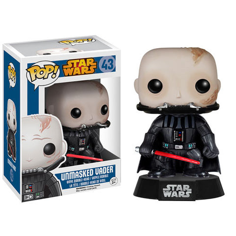 Star Wars POP! - Darth Vader Unmasked