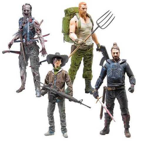 The Walking Dead Comic Series 4 - Set of 4