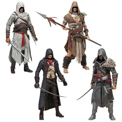 Assassin's Creed Series 3 - Set of 4