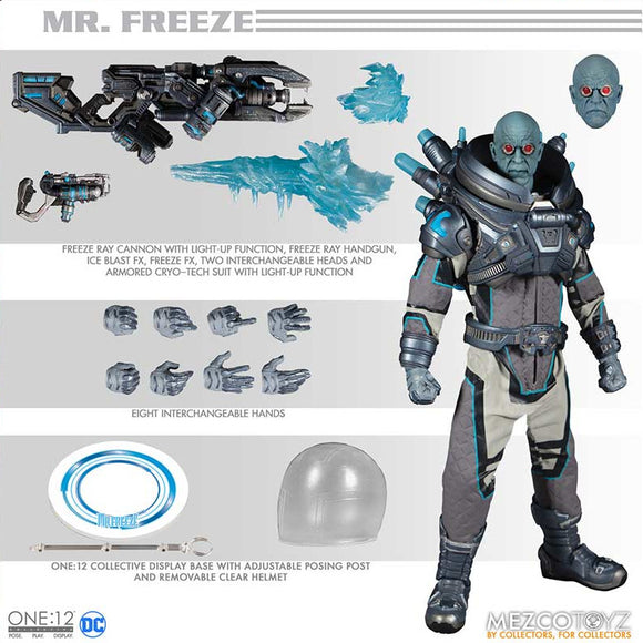 DC One:12 - Mr. Freeze Deluxe