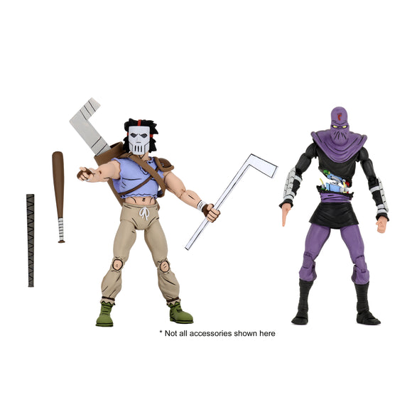 TMNT Cartoon 2-Pack - Casey Jones & Foot Soldier