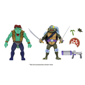 TMNT Cartoon 2-Pack - Leather Head & Slash