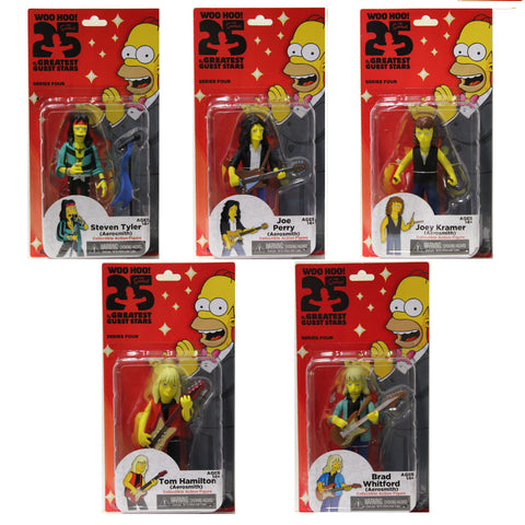 The Simpsons Series 4 - Aerosmith Full Band