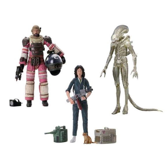 Alien 40th Anniversary Series 1 - Set of 3