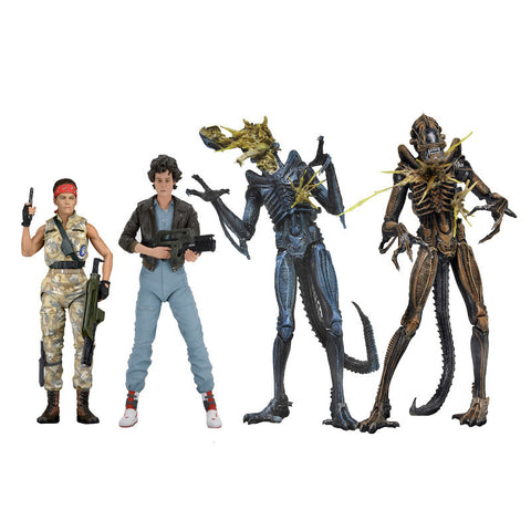 Aliens Series 12 - Set of 4