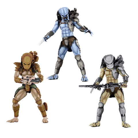 Alien vs. Predator Arcade Predators - Set of 3