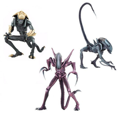 Alien vs. Predator Arcade Aliens - Set of 3