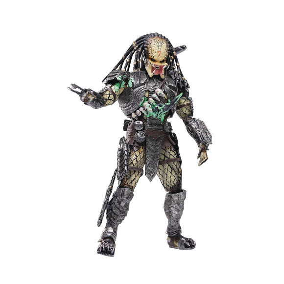 AvP - Battle Damaged Scar Predator 1/18 Scale Figure