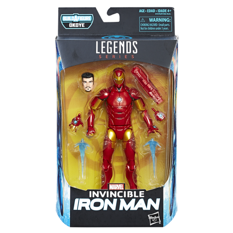 Black Panther Marvel Legends - Iron Man