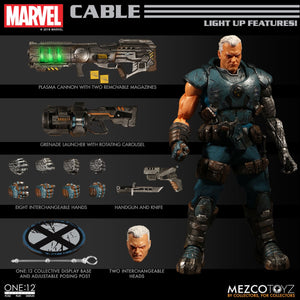 Marvel One:12 - Cable