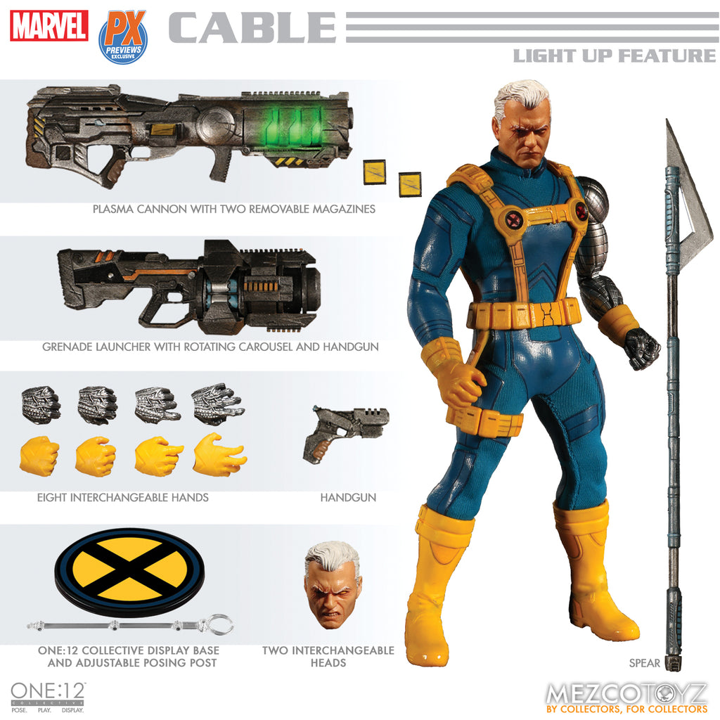 Marvel One:12 - Cable (PX)