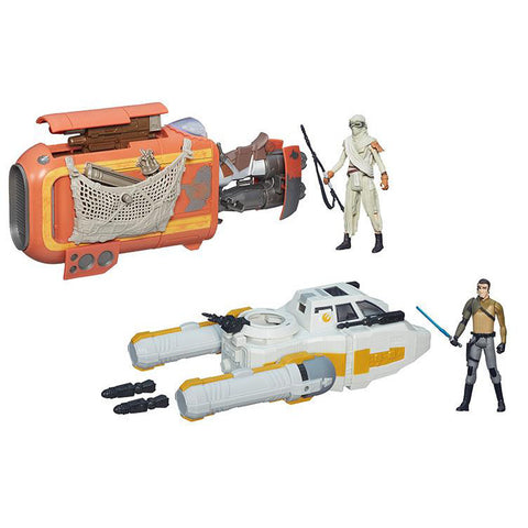 The Force Awakens - Deluxe Class I Vehicle - Set of 2