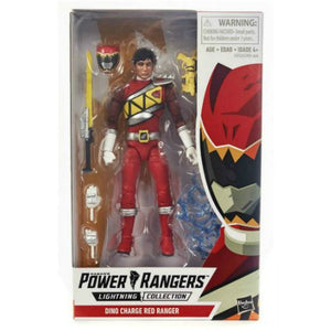 Power Rangers Lightning - Dino Charge Red Ranger