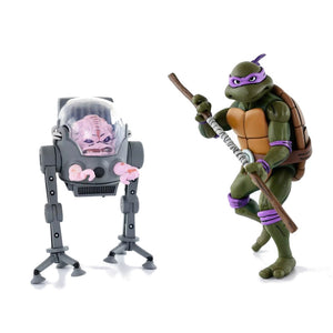TMNT Cartoon 2-Pack - Donatello vs Krang