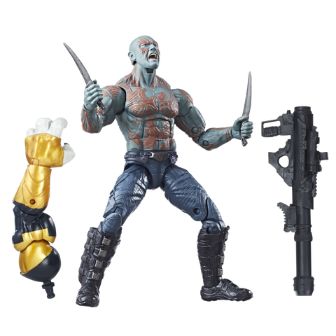 Guardians of the Galaxy Marvel Legends Wave 1 - Drax