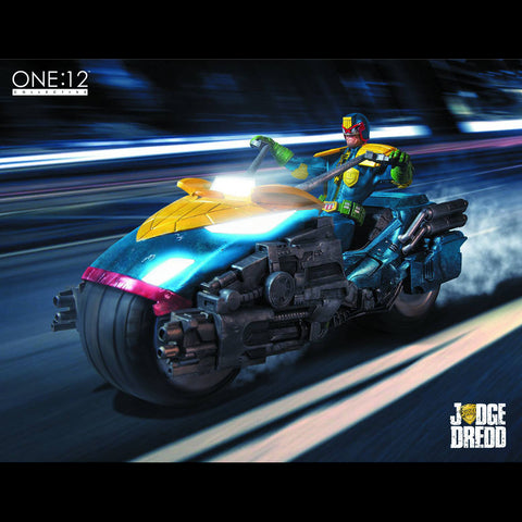 One:12 Judge Dredd w. Bike (PX)