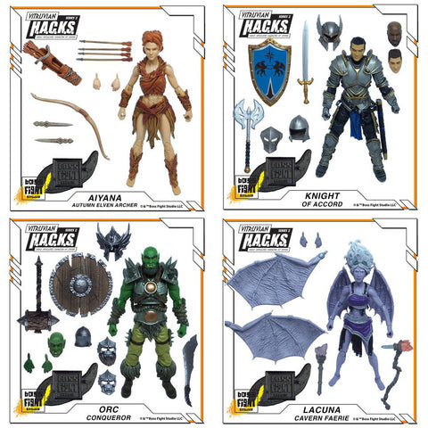 Vitruvian HACKS Fantasy Wave 1 - Set of 4