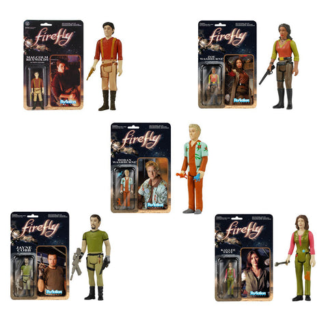 Firefly ReAction - Set of 5