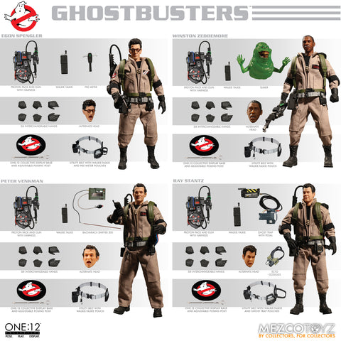 One:12 Ghostbusters Deluxe Box Set