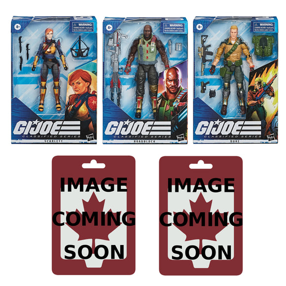 G.I. Joe Classified - 2020 Wave 1