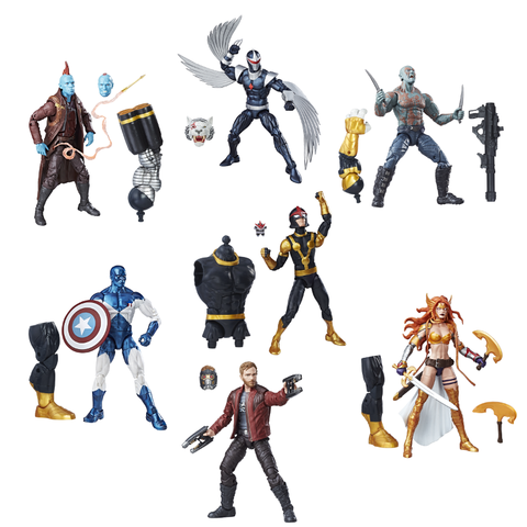 Guardians of the Galaxy Marvel Legends Wave 1