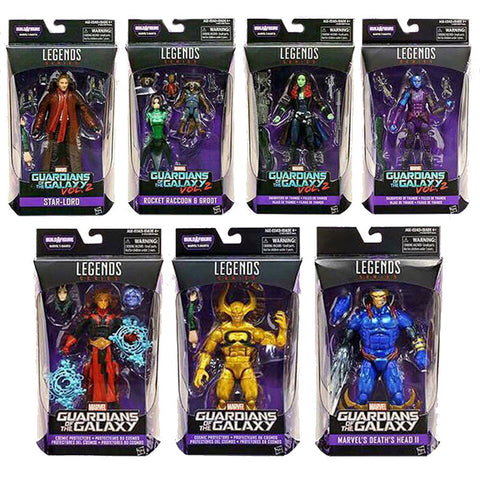 Guardians of the Galaxy Marvel Legends Wave 2