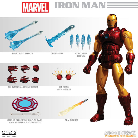 Marvel One:12 - Iron Man