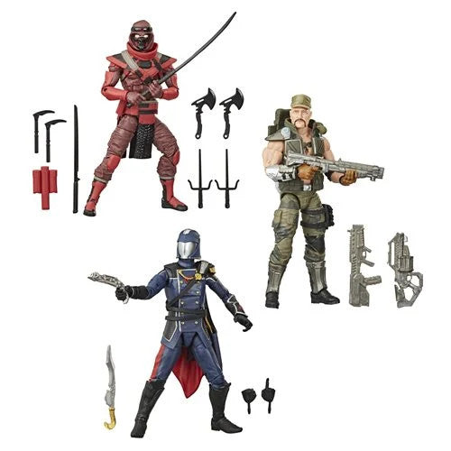 G.I. Joe Classified Series 2 - Set of 3