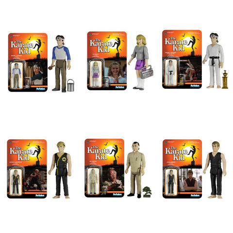 Karate Kid ReAction - Set of 6